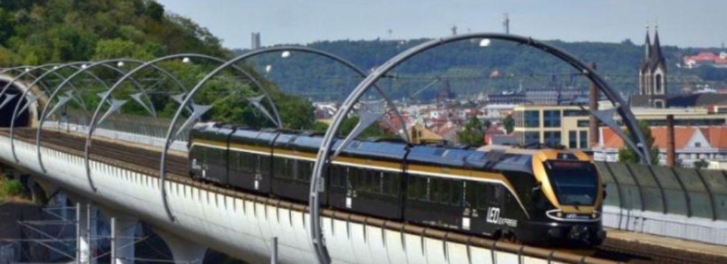 Прага-Мостиська: чеський перевізник планує запустити прямий потяг