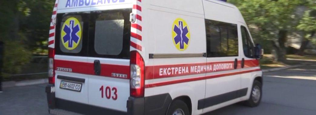 """У Львові звільнили водія """"швидкої"""", який на тротуарі збив маму з дитиною"""
