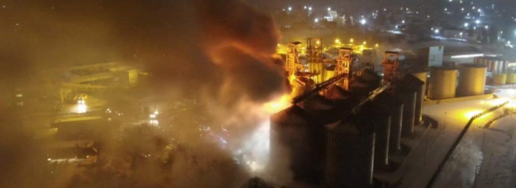 """На заводі """"Майола"""" згоріло 40 тонн насіння"""