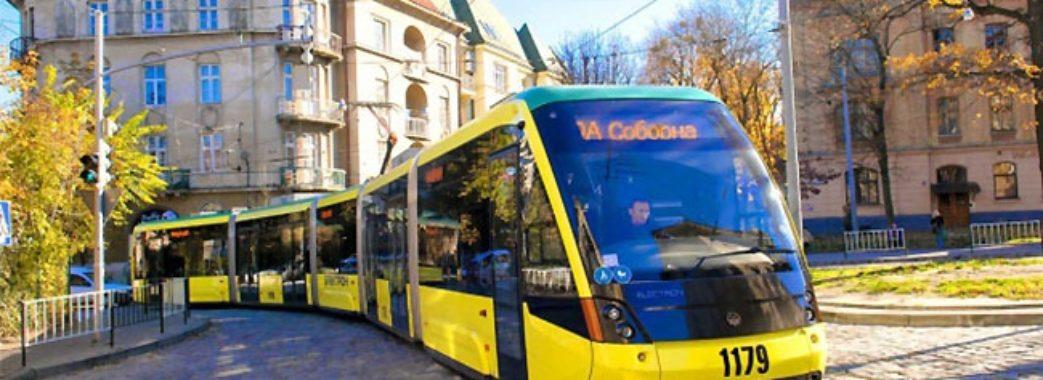 Трамвай №4 тимчасово їздитиме на Сихів