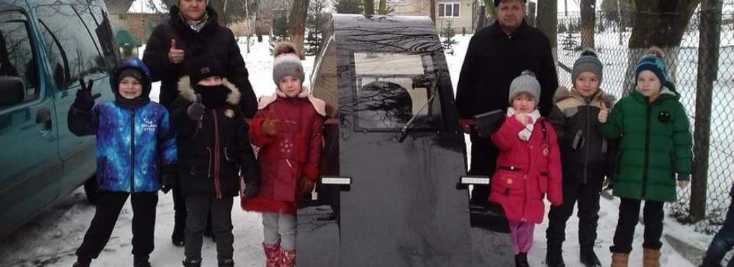 У Городку чоловік сконструював власний електромобіль