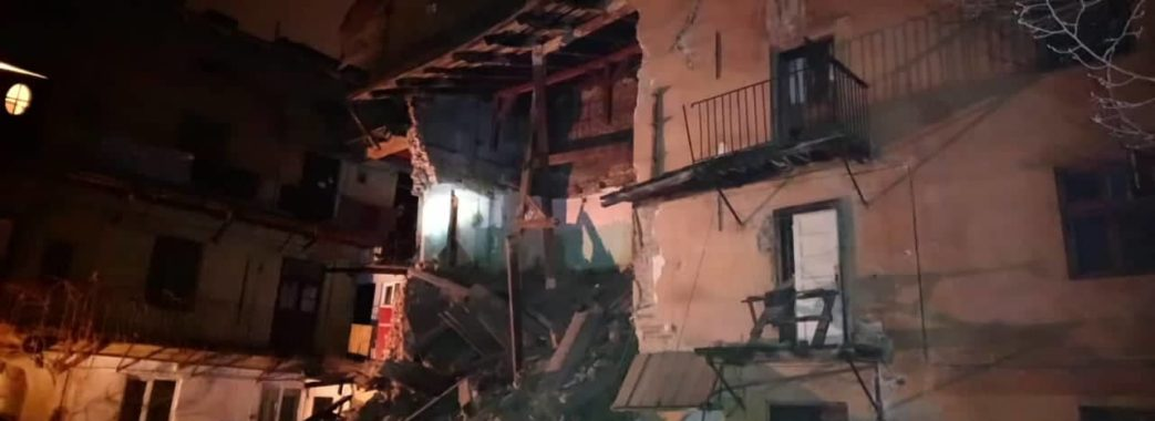 На Личаківській у Львові обвалилася стіна будинку
