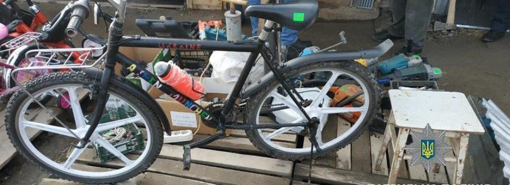 """На """"Торпедо"""" виявили крадений велосипед"""