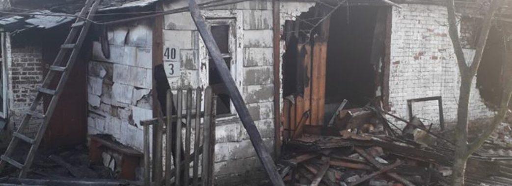 У Червонограді у власному будинку згорів чоловік