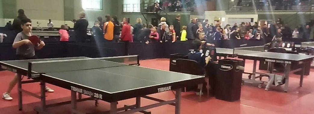 Жовква приймає міжнародний турнір з настільного тенісу