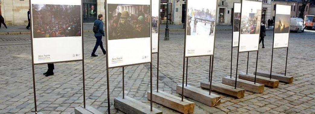 У Львові відкрили фотовситавку у пам`ять про Героїв Небесної Сотні