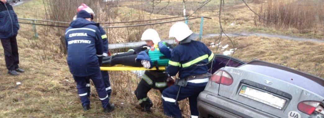 У Червонограді через неуважність водія потерпіло 5 людей