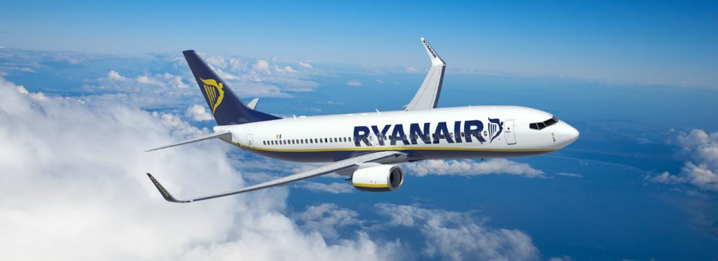 Лоукостер Ryanair оголосив розпродаж квитків на рейси зі Львова