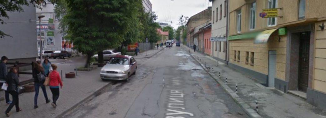 До травня на вулиці Смаль-Стоцького у Львові буде обмежений рух