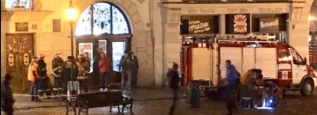 У центрі Львова вибухнув каналізаційний люк: другий випадок за місяць