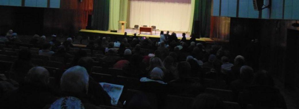 «Концерту не буде»: жителі Буська розчаровані зустріччю з Оксаною Білозір
