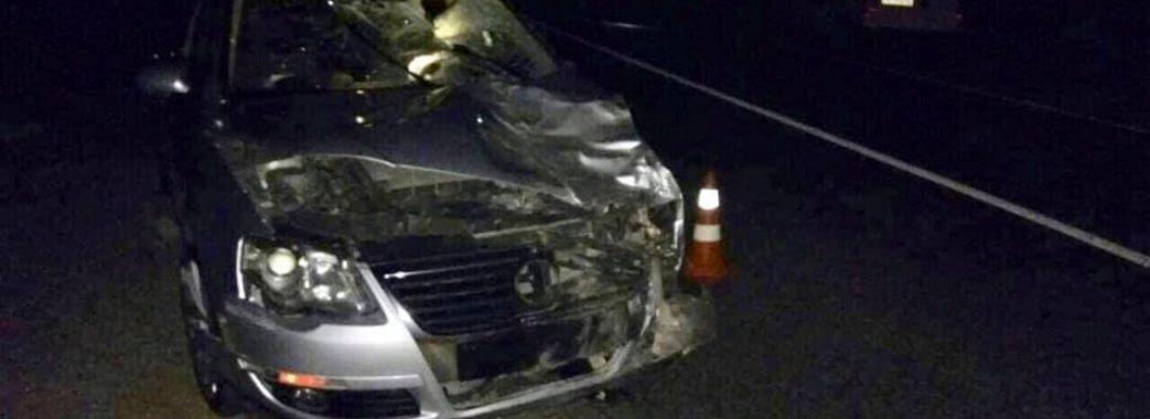 У Кам'янка-Бузькому районі скутерист загинув під колесами автівки з п'яним водієм