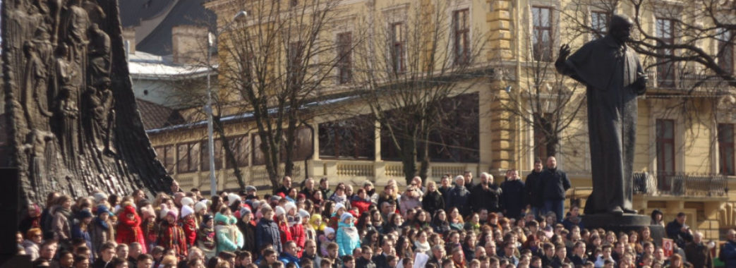На день народження Шевченка у Львові встановлять рекорд