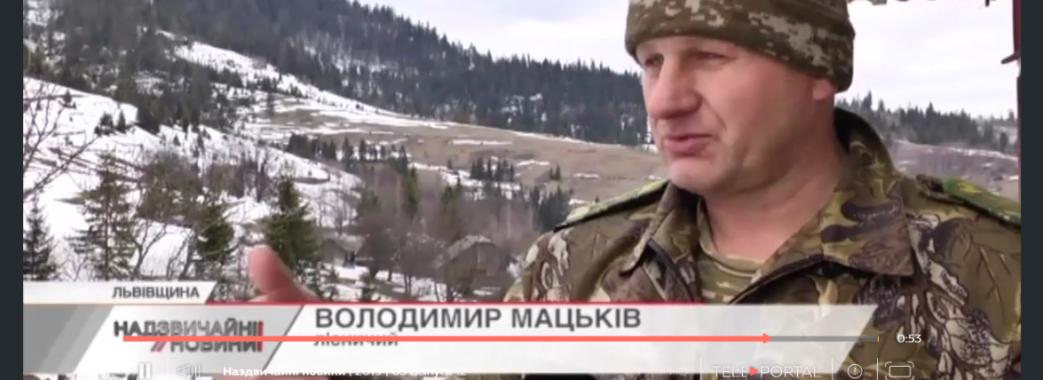 Лісник зі Сколівщини вимагає оштрафувати чоловіків, яких побив його син