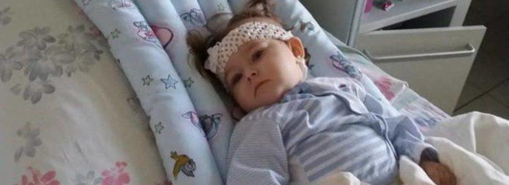 1-річній Сніжані Саган зі Сколівщини відмовили нирки: дитину може врятувати операція