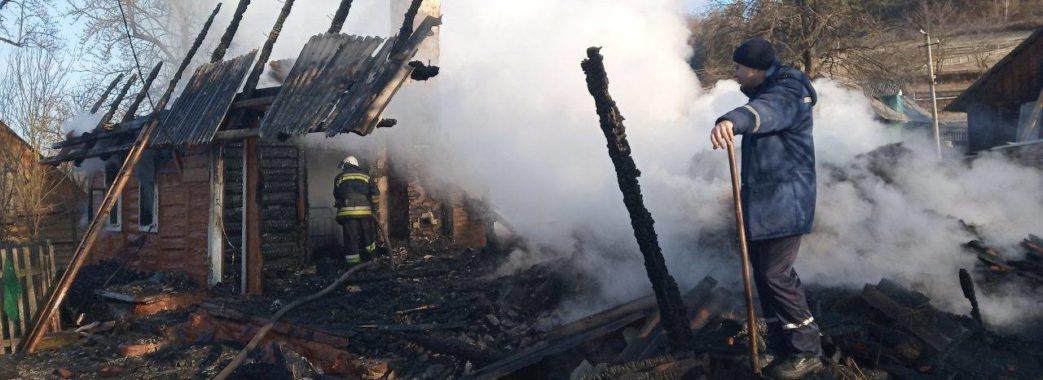 На Старосамбірщині у пожежі загинула жінка