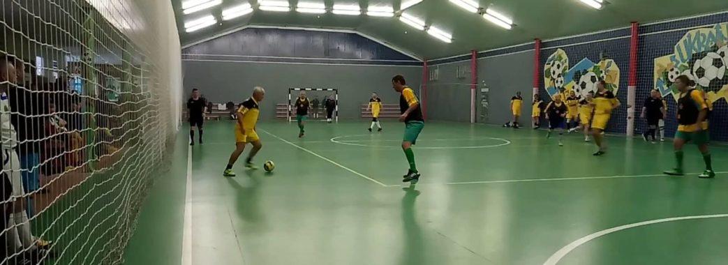 Футзалісти з Дрогобича перемогли у ветеранському турнірі