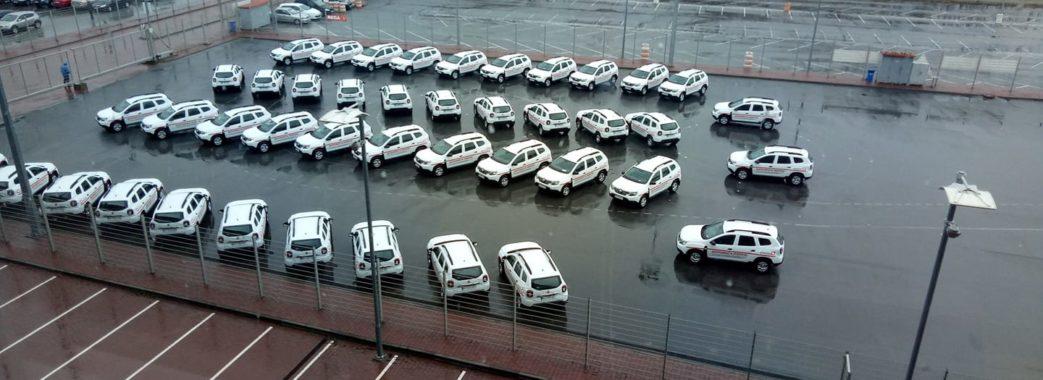 Сільським амбулаторіям подарували 43 нові автівки