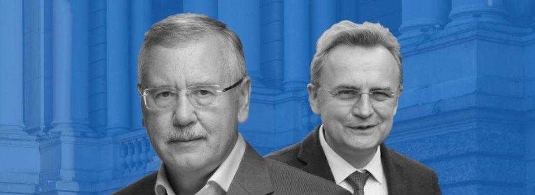 «На посту прем'єр-міністра України я хотів би бачити Андрія Садового», – Анатолій Гриценко