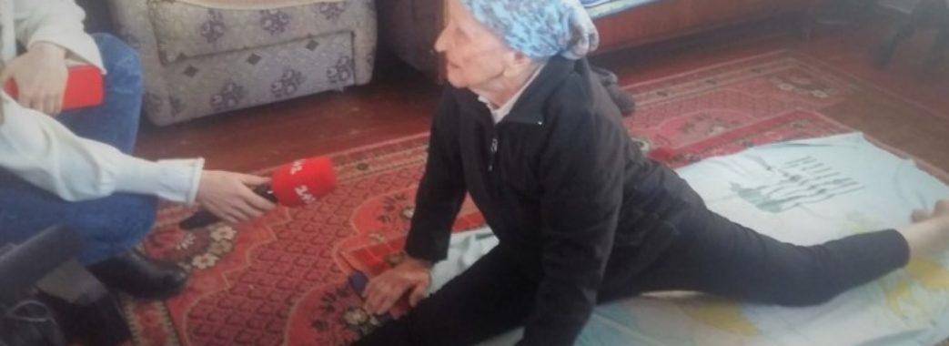 93-річна бабуся з Кам'янки-Бузької веде сторінку в Instagram