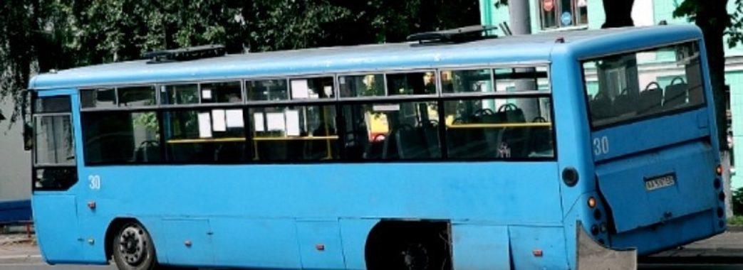 """На Сокальщині """"Ікарус"""" впав на водія"""