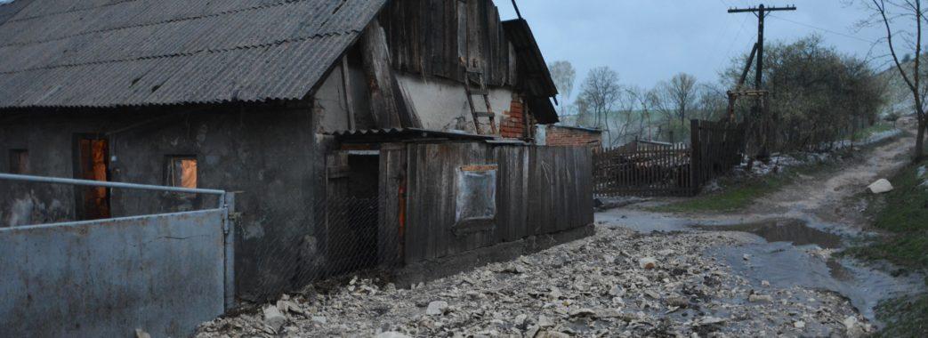 «Син маленьких випустив, квочку не встиг – вона втопилася»: на Золочівщині під час зливи розмило дороги та загинула худоба