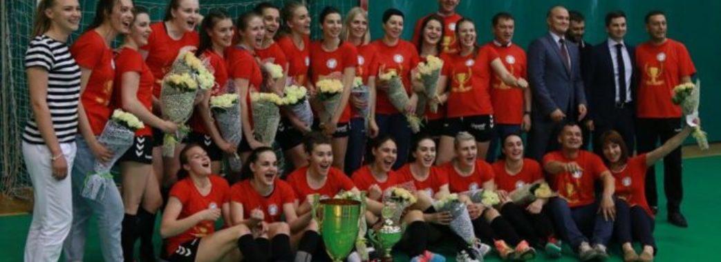 Львівська «Галичанка» виграла Чемпіонат України з гандболу