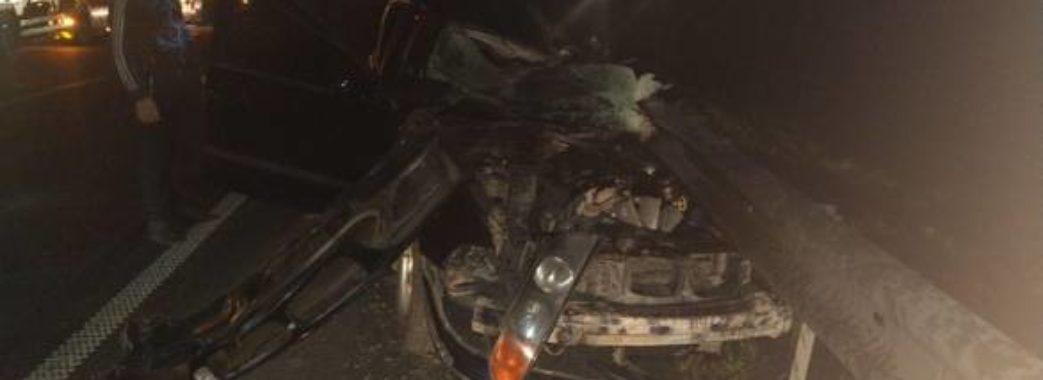 Смертельна ДТП на Бущині: загинув молодий водій іномарки