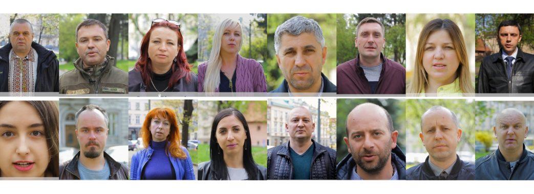 Активісти записали звернення до Володимира Зеленського (ВІДЕО)