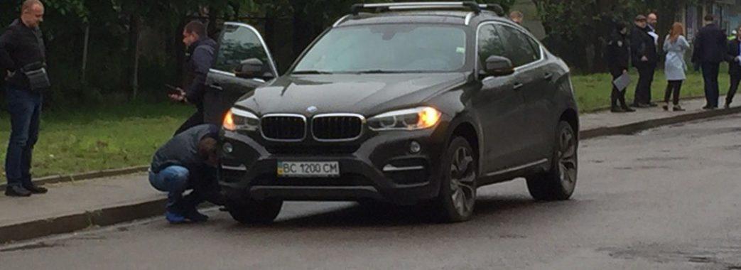 У Львові під час руху в автомобілі BMW стався вибух