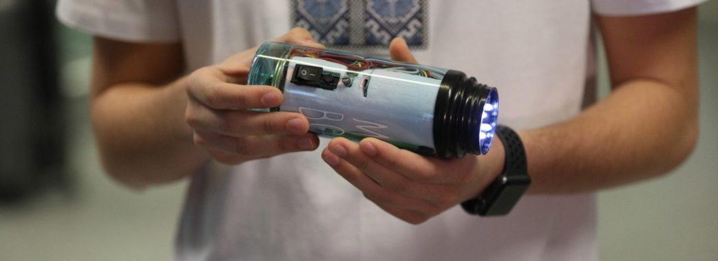 16-річний львівський школяр створив винахід для незрячих