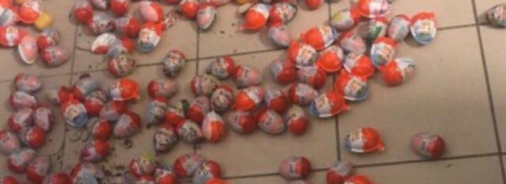 Житель Миколаєва намагався викрасти 100 «кіндер-сюрпризів»