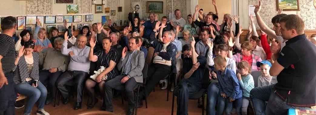 Мешканці села на Миколаївщині хочуть відкликати депутатку ОТГ