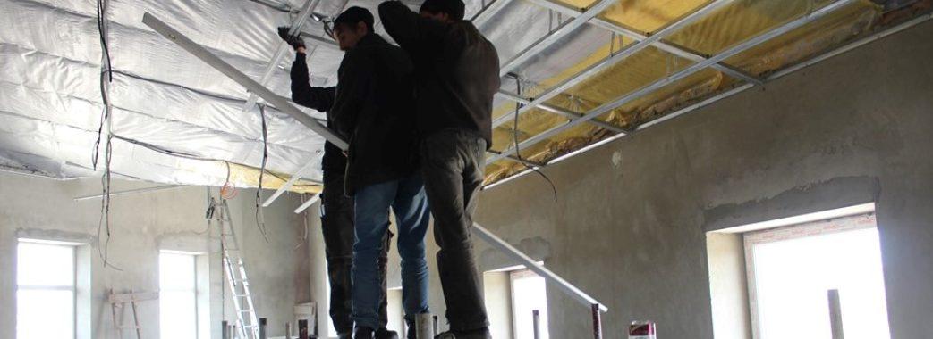 У селі на Миколаївщині будують Народний дім з душовими кімнатами