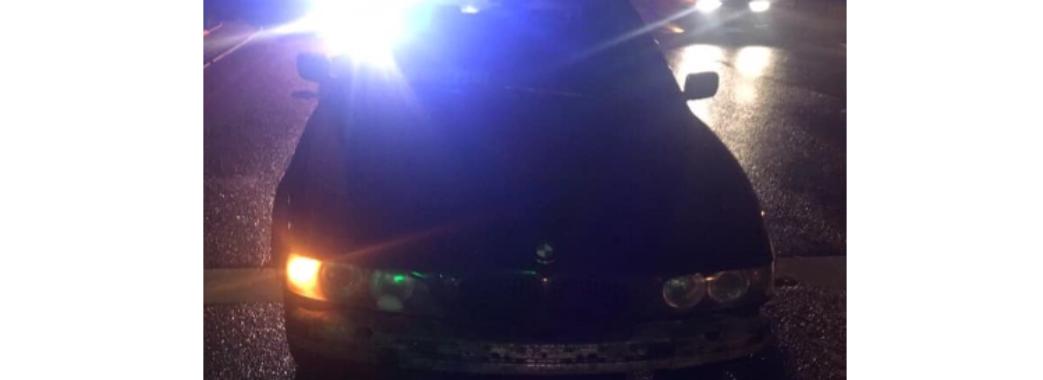 У Львові зупинили водія без прав, який пив пиво при патрульних