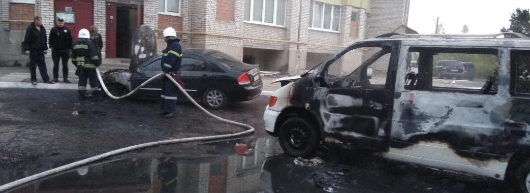 Червоноградець з опіками потрапив до лікарні: намагався врятувати палаючий автомобіль