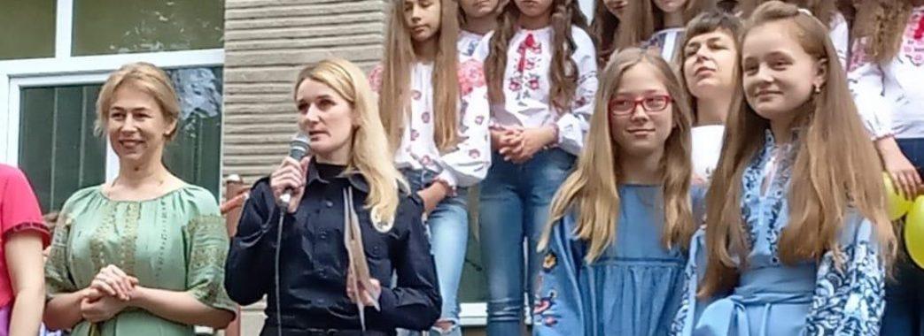 У Радехові поліцейські вручили школяркам нагороди