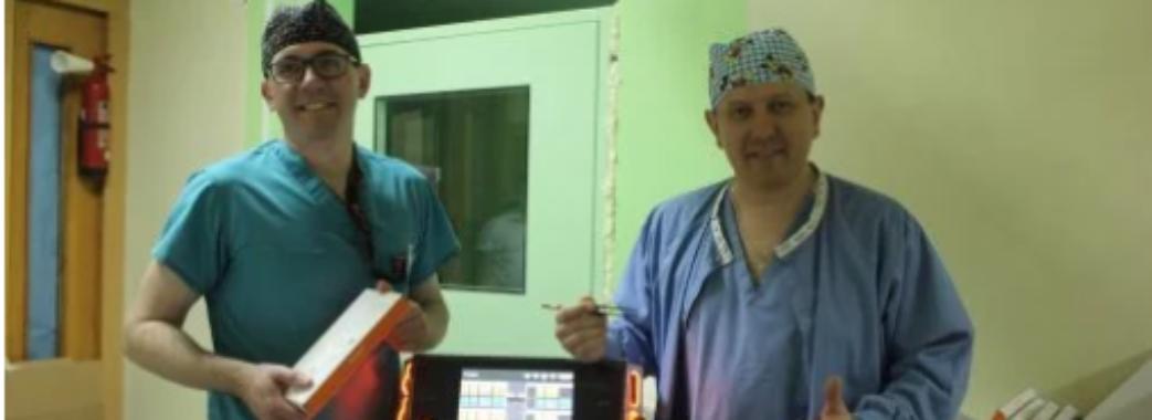 Хірургічне обладнання за майже 2 мільйони придбали у дитячу лікарню