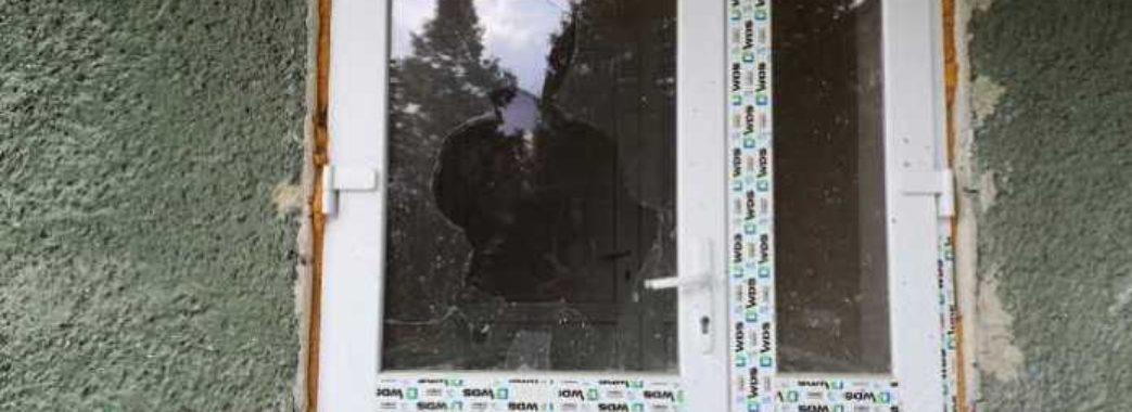 У Дрогобицькій інфекційній лікарні вдруге за короткий час побили нові вікна