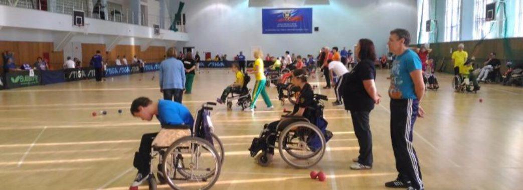 У Львові спортсмени з ураженням опорно-рухового апарату позмагалися у турнірі з бочча