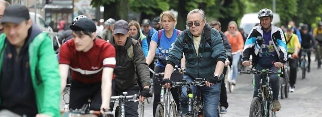 Більше тисячі львів'ян взяли участь у Велодні