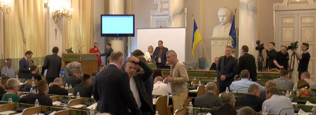 Троє депутатів партії Ляшка вийшли з фракції у Львівській облраді