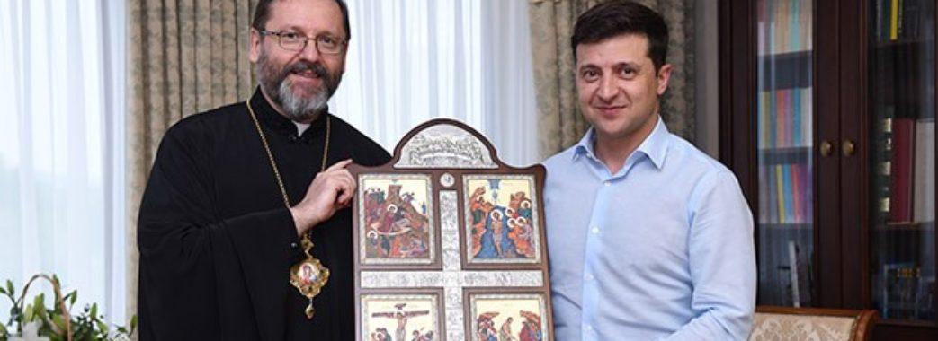 Глава УГКЦ зустрівся з Володимиром Зеленським