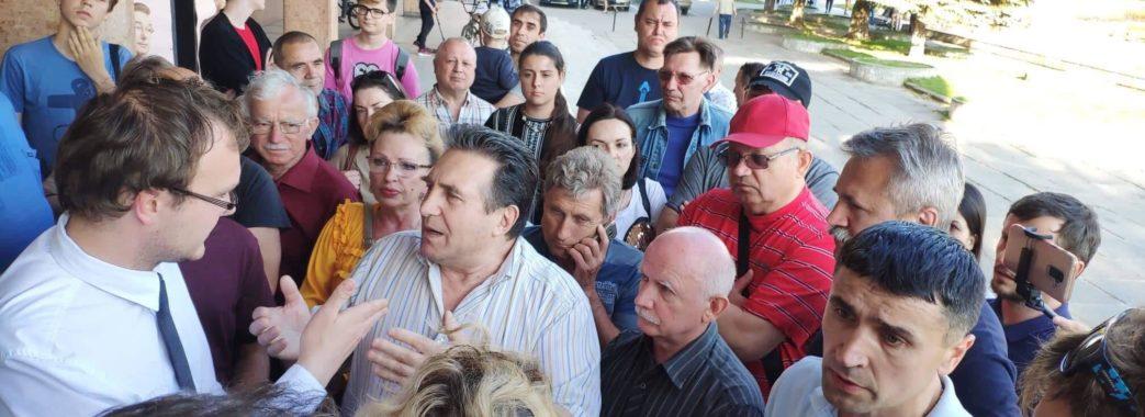 У Львові стався конфлікт через площу Довженка