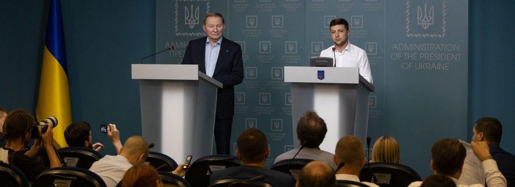 """Кучма повернувся в Мінські переговори: """"Не буду весільним генералом"""""""