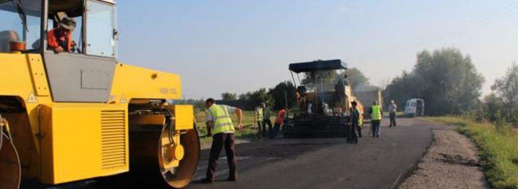 """Прикордонні дороги поремонтують за 100 мільйонів гривень """"Польського кредиту"""""""