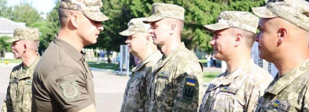 У Самборі зустрічали військових, які повернулися з Республіки Косово