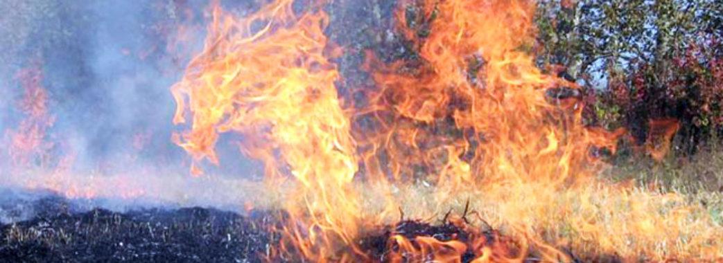 Надзвичайна пожежна небезпека на Львівщині: фахівці радять дотримуватись правил безпеки