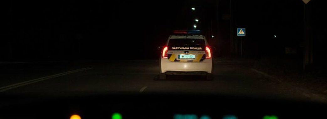Патрульні влаштували погоню за п'яним водієм без прав