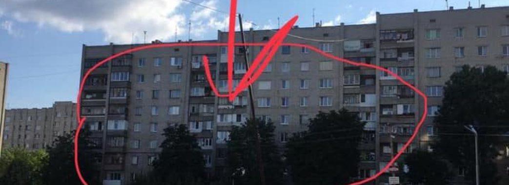 Невідомий з львівської багатоповерхівки стріляє у людей